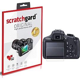 Scratchgard Ultra Clear Protector Screen Guard for Canon EOS 1200D Screen Protectors
