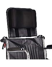 """Soporte para cuello Reposacabezas silla de ruedas Acolchado de la cabeza Cojín portátil y ajustable para 16-20"""" Adultos viaje sillas de ruedas de universal Accesorios (negro)"""