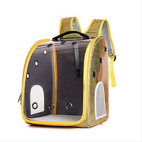 JUBHDS Pet Cat Dog Carrier Bag Caja Transpirable Transparente ...