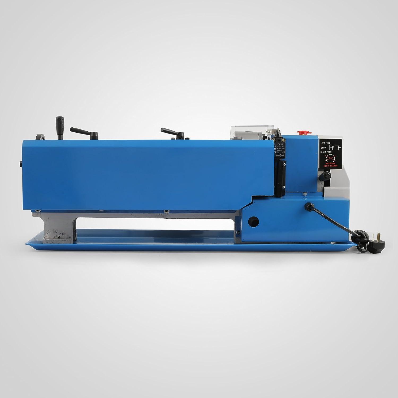 Cueffer Torno de Metal 350x180 mm CJ0618A Mini Torno de Banco de Precisión 2500 RPM 550W Mini Torno de Metal Torno de Trabajo de Metal Fresadora de Metal: ...