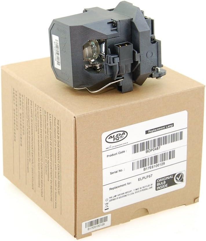 Alda PQ Profesional, Lámpara de proyector Compatible con EPSON EB ...