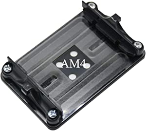 Aimixin AM4 Bracket,Desktop Computer AMD AM4 Motherboard CPU Heatsink Bracket, Steel Back Plate Bracket for AM4's HeatSink Cooling Fan Mounting