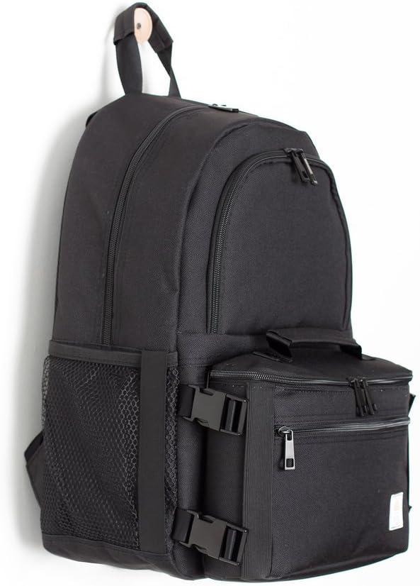One Size Black Hudson Tailor Classic Set Backpack