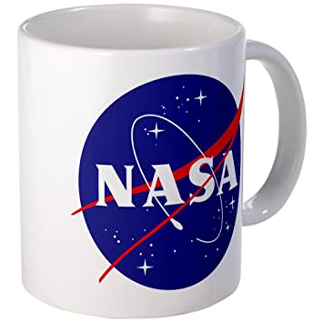 cafepress NASA Logo Taza - Standard Multicolor: Amazon.es: Hogar