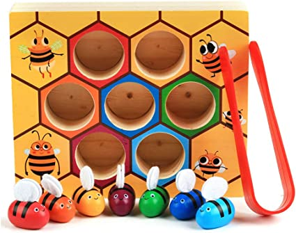 Cute Wooden Toy Cup Ball Toys Catch Skill Game Handcrafted Gifts Kids H