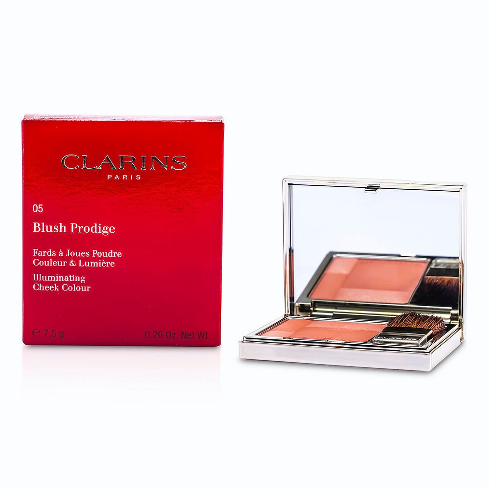 Clarins by Clarins Blush Prodige Illuminating Cheek Color - # 05 Rose Wood --7.5g/0.26oz for WOMEN ---(Package Of 6)