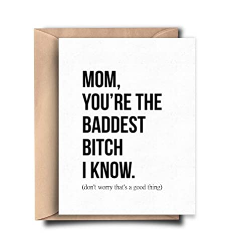 Amazon Funny Card For Mom Birthday