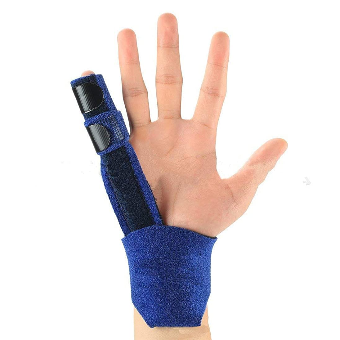 ソブリケット震えどこかNipit 子供の指しゃぶり防止?指しゃぶりやめさせるバンド/ガード 安全で調節可能 【2-7歳】