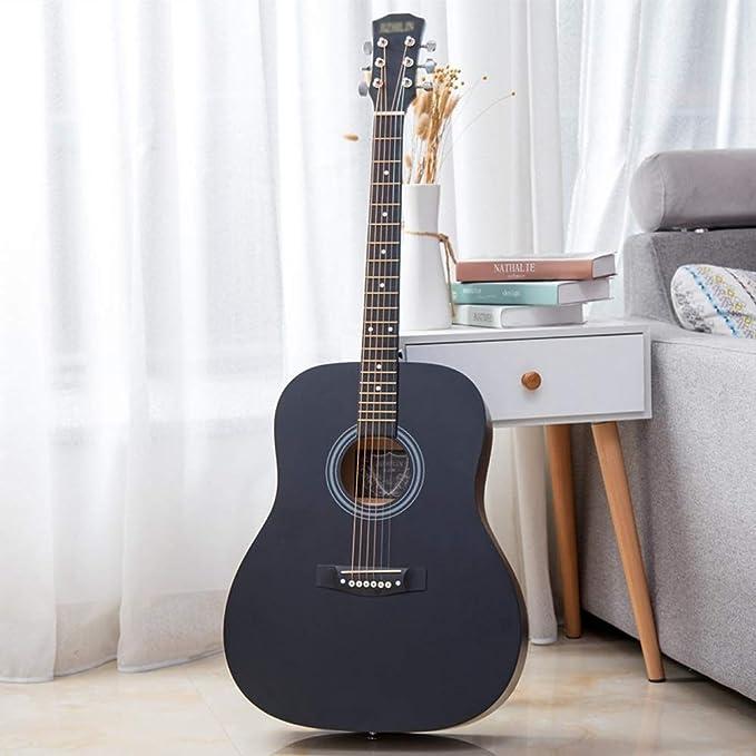 Loivrn Esquina redondeada Vintage 41 pulgadas Guitarra ...