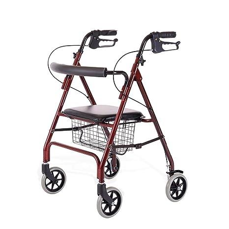 Andadores estándares y ligeros Andador Rollator Ancianos ...
