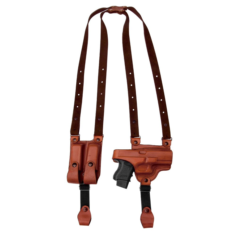 Tagua SH4-082 Full Slide Shoulder Holster, CZ 75, Brown, Right Hand by Tagua (Image #1)