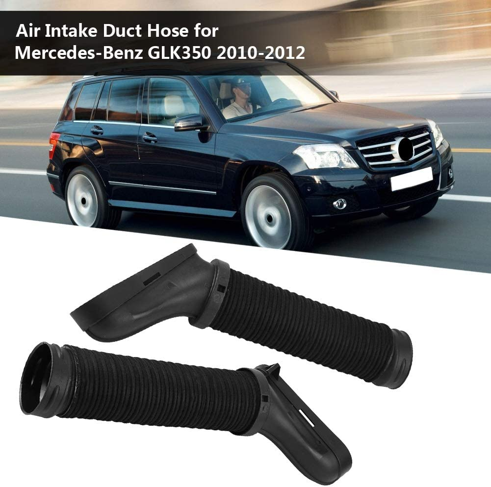 Right Fit for 2010-2012 Mercedes Benz GLK350 WFLNHB New Pair Air Side Intake Duct Hose Left