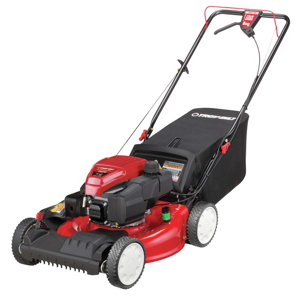 Troy-Bilt 12AVA2MR766 21 in. Self-Propelled 3-in-1 Front Wheel Drive Mower with 159cc OHV Engine by Troy-Bilt