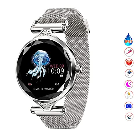 Amazon.com: QUARKJK Fitness Tracker Women Smart Watch reloj ...