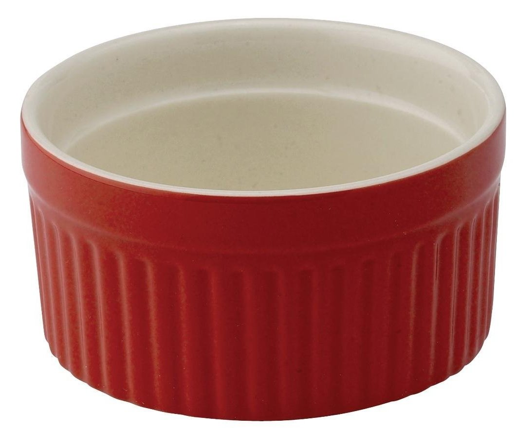 HIC Harold Import Co. 98005RS-HIC 3.5'' 6 oz Souffle Ceramic Home Decor Products