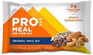 product image for PROBAR - Meal Bar, Original Trail Mix, Non-GMO, Gluten-Free, Healthy, Plant-Based Whole Food Ingredients, Natural Energy (6 Count)