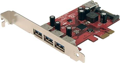 StarTech.com 4 Port SuperSpeed USB 3.0 PCI Express Card with SATA Power PEXUSB3S4