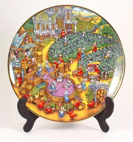 Franklin Mint Royal Doulton A Purrfect Harvest cat plate by Bill Bell CP560