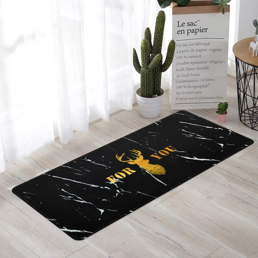 LUYIASI- Tapis d'art américain de ligne pour l'utilisation de tapis de couloirs d'entrée de tapis de plancher de cuisine de côté de divan-lit pour l'hôtel à la maison, épaisseur: 8mm Non-slip mat