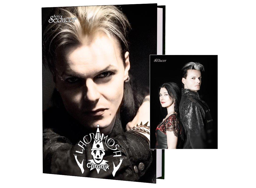 Lacrimosa Chronik/Buch von Sonic Seducer im Hardcover + handsignierte Postkarte + exkl. neue Interviews