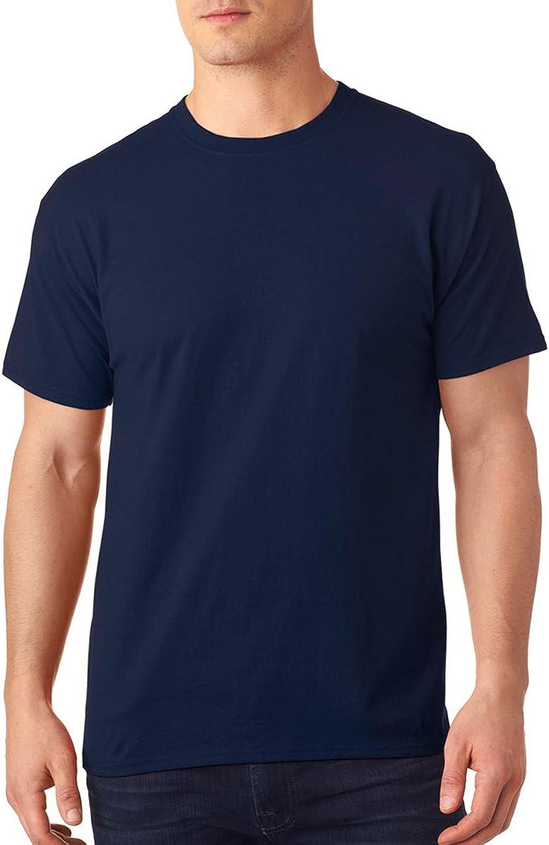 Hanes Men's X-Temp Crewneck Short-Sleeve T-Shirt (Small), Deep Royal