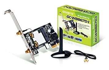 Amazon.com: Gigabyte gc-wb867d-i Rev Bluetooth 4.2/Wireless ...