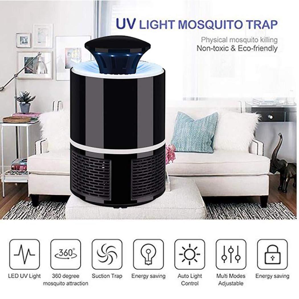 ilonti Tueur électronique d\'insectes Volants de Moustique de photocatalyseur de piège à moustiques électronique Moustiques