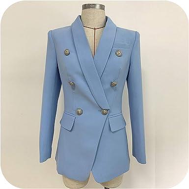 Women Blazer Jackets Womens White Ladies Blazer Office Lady Jacket Solid Button Plus Size