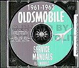 1961-1962 Oldsmobile CD-ROM Repair Shop Manual