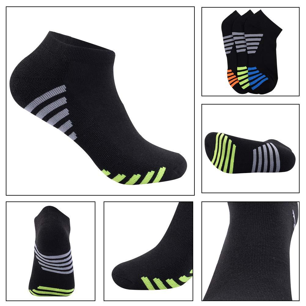 Amazon.com: Calcetines de tobillo para hombre, talla baja ...