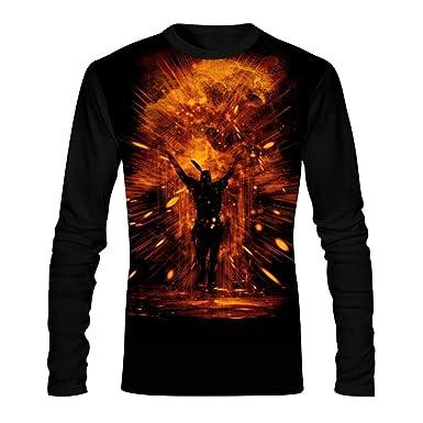 b620dbbd2 Amazon.com: Praise The Sun Men's Tees Graphic Casual Long Sleeve T Shirt  Comfortable Tee Shirt: Clothing