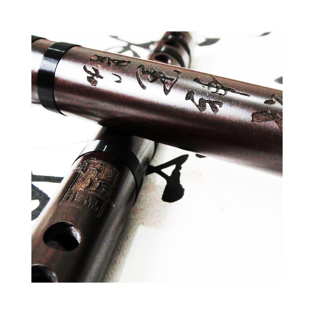 Exquisite Chinese Instrument Aged Rosewood Flute Dizi Professional Level SoundofMountain Smile_Sound_023