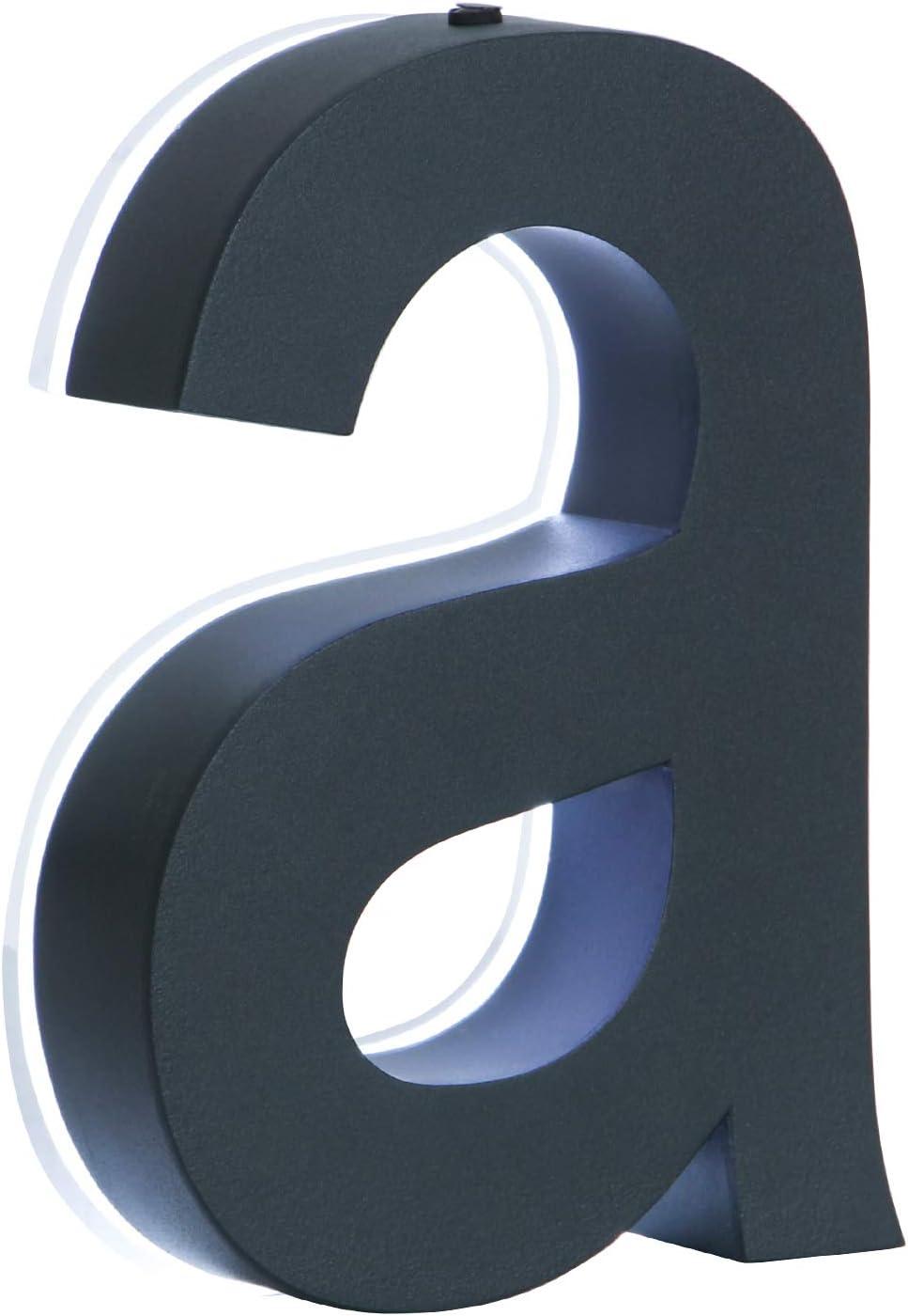 2 LED Hausnummer anthrazit 3D Edelstahl V2A H/öhe 20cm beleuchtet rostfrei Tranformator 220 Volt D/ämmerungssensor vollautomatisches An und Aus 0 1 2 3 4 5 6 7 8 9 a b c d 2 LED anthrazit