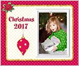Christmas 2017 Red - Picture Frame Gift