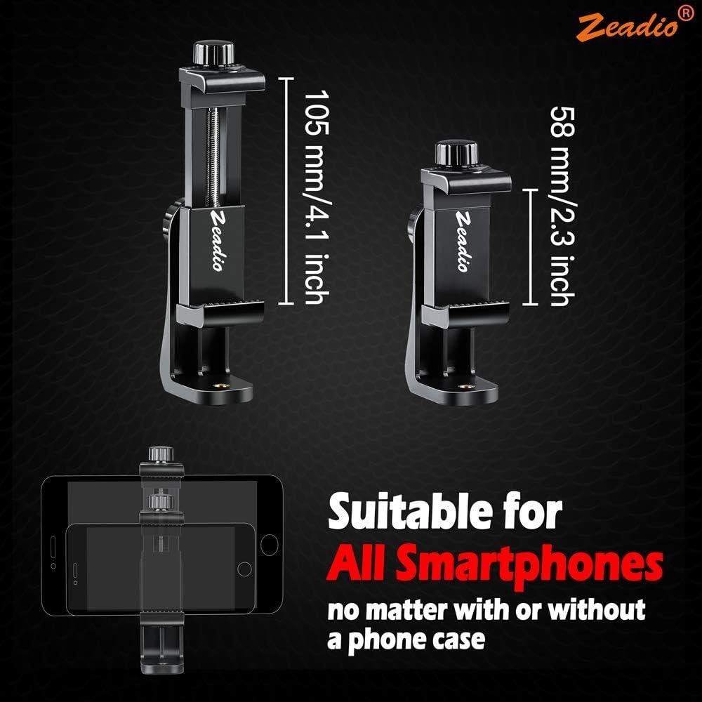 Zeadio Soporte para Smartphone, con función de rotación de 360 ...