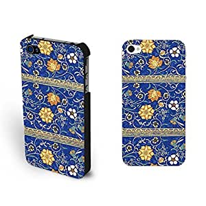 Classic Elegant Vintage Flower Print 4 Flower Print Cases Retro Vogue For SamSung Galaxy S6 Case Cover Floral Hard for Girls