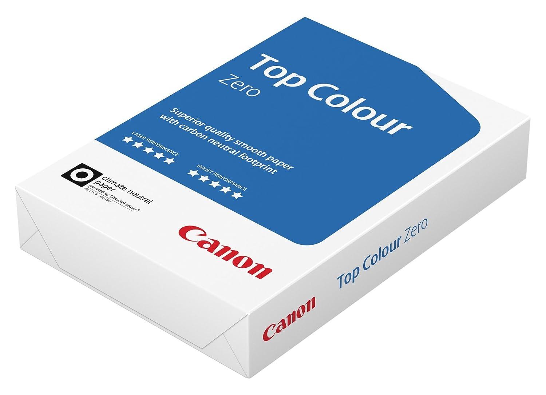 Canon Germania Top Colour Zero fotocopiatrice a colori, 3x 500fogli Certificato FSC, da CO2, formato A4, 100g/m², tutte le stampanti hochweiß Cie 164(Confezione Protettiva Ottimizzata) 8713878117184