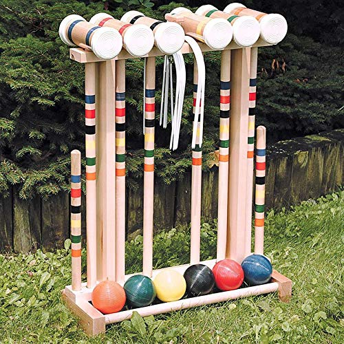 L.T. Framco Amish-Crafted Croquet Set