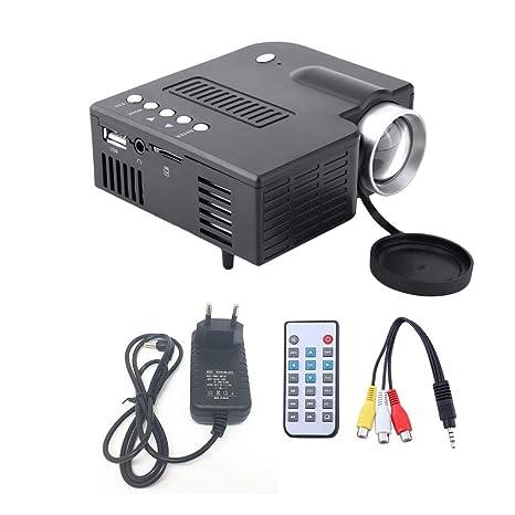 UC28A Mini proyector LED portátil 1080P Multimedia Cine en ...