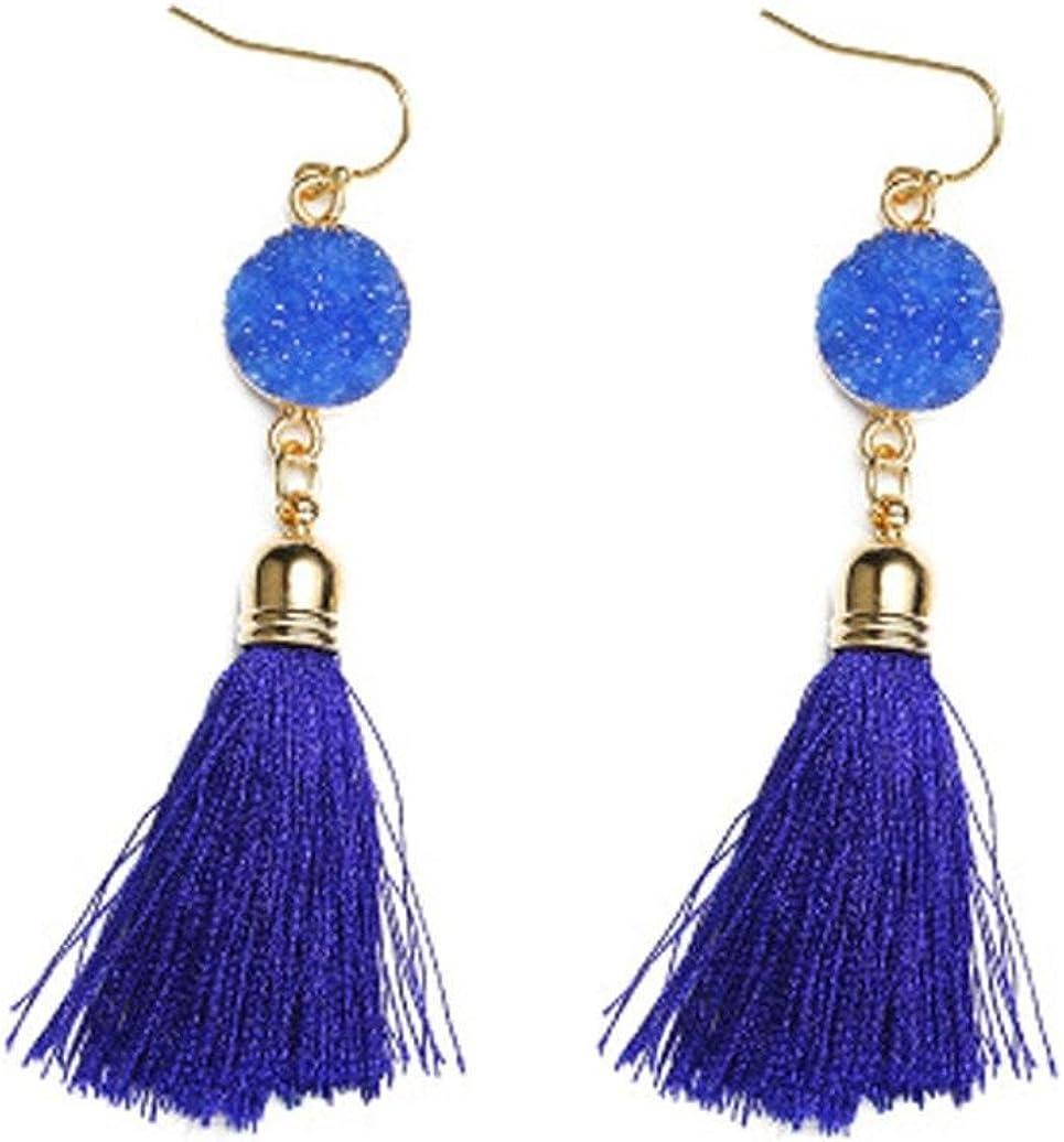 1 Paire Femme Fashion Vintage Strass Oreille Lustre Dangle Boucles d/'oreilles Bijoux