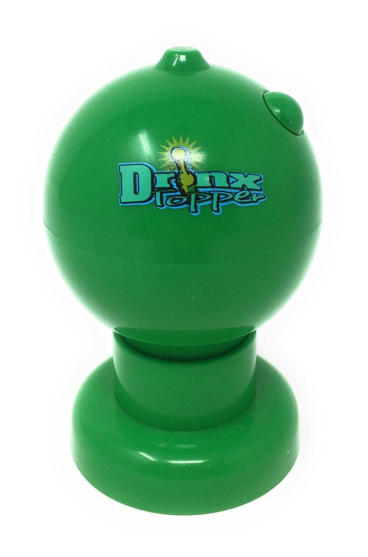 Bottle Top Salt Rimmer - Drink Topper (No Sample Salt Included, Green) by Barproducts.com, Inc. (Image #1)