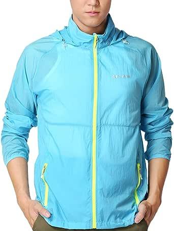 Alafen Unisex Nylon Ultrathin Breathable Waterproof Sports Windbreaker Skin Coat