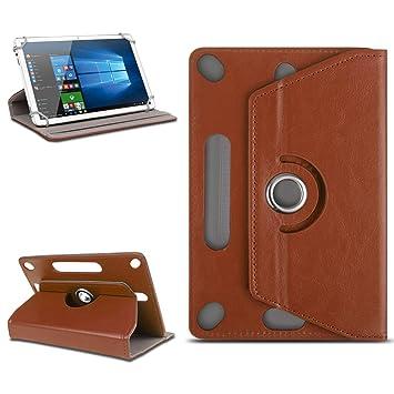 NAUC - Funda Universal para Tablet de 10 a 10,1 Pulgadas, función Atril, Gira 360 cm, Gran cantidad de diseños, Funda Universal para Tableta
