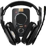 Astro 939001511–Kopfhörer (mit Mikrofon) A40und Audio-Decoder MixAmp Pro TR, Schwarz