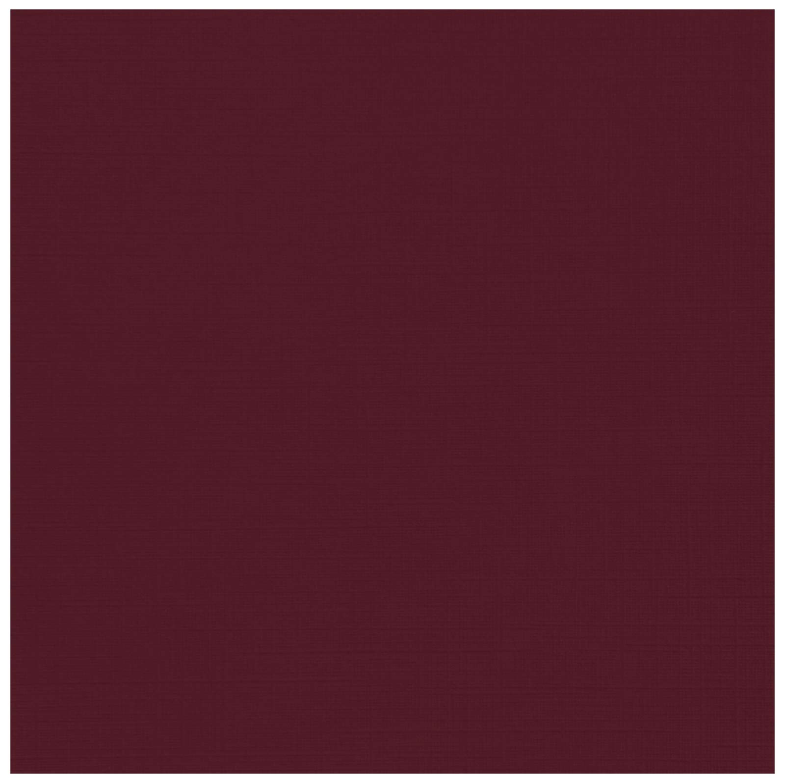 12 x 12 Cardstock - Burgundy Linen (250 Qty.) | Perfect for Crafting, Invitations, Scrapbooking, Art Projects, Menus, Brochures | Printable | 100lb. Cover Weight | 1212-C-BGLI-250