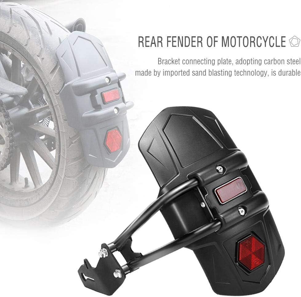 si/ège Solo Bobber Chopper et Applications Caf/é Racer Adapter /à la Plupart Moto Moto Roue arri/ère Fender Splash Garde Garde-Boue arri/ère en m/étal