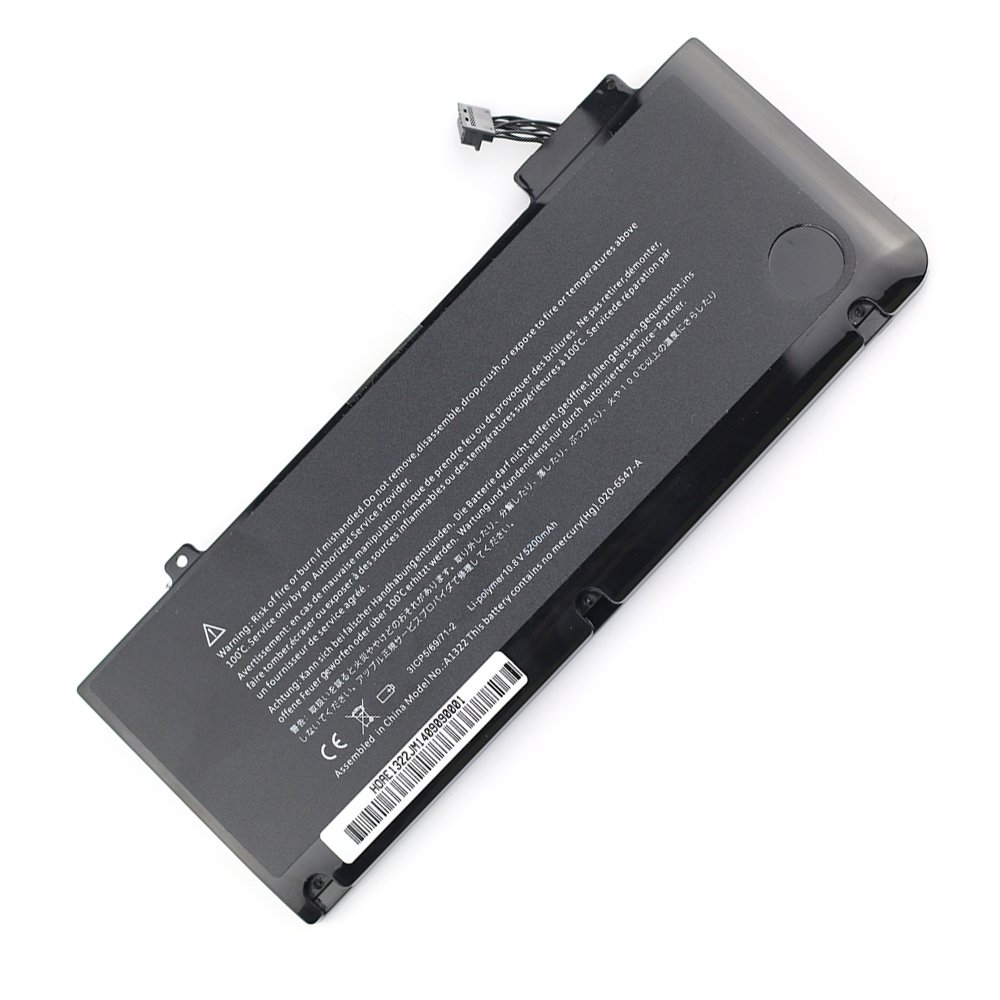 Bateria 6 Celdas 10.8V 5200mah MacBook Pro 13 A1278 2009 Ver