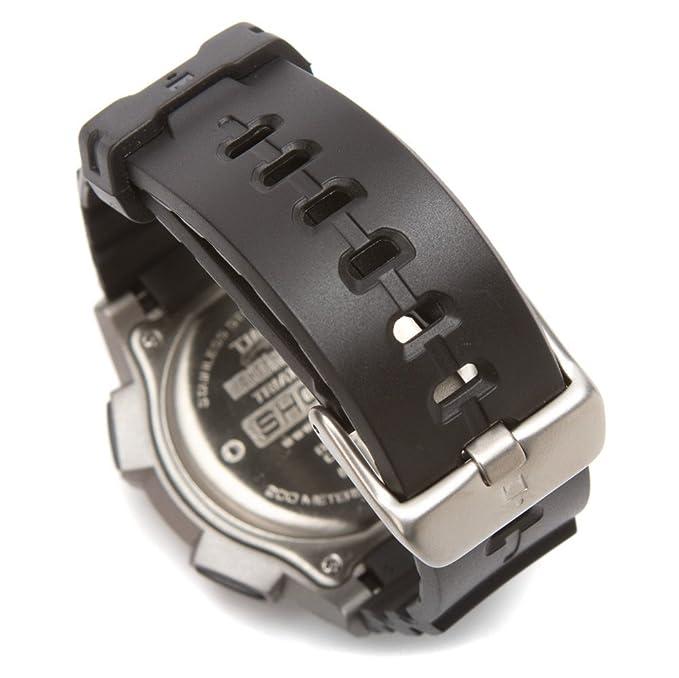 c5e309153701 Timex T5K1959J - Reloj digital con correa de resina para hombre ...
