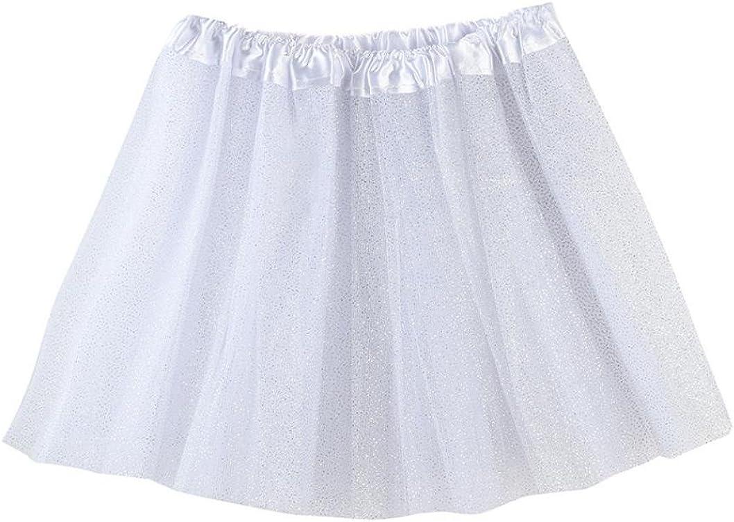 KONFA Teen Baby Girls Solid Color Ballet Tutu Skirt,Suitable for 3-8 Years Old,Pettiskirt Dance Dress Costume Set