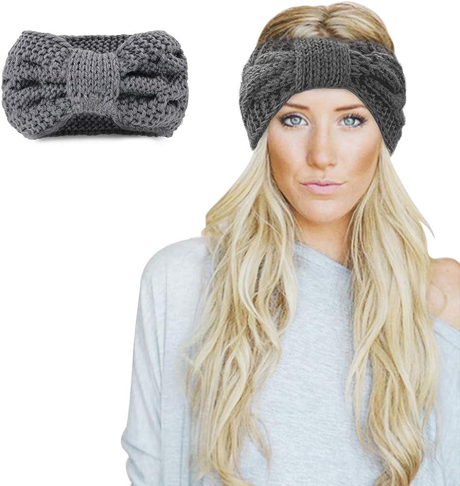 Winter Knitted Headband -...
